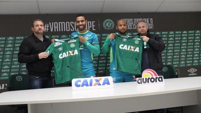 Demerson Sérgio Manoel Chapecoense (Foto: Cleberson Silva/Chapecoense)