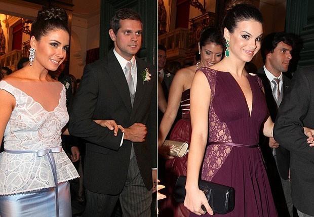 Giovanna Antonelli e Leonardo Nogueira (à esq.);  Sthefany Brito  (Foto: Cláudio Andrade/ Revista QUEM)
