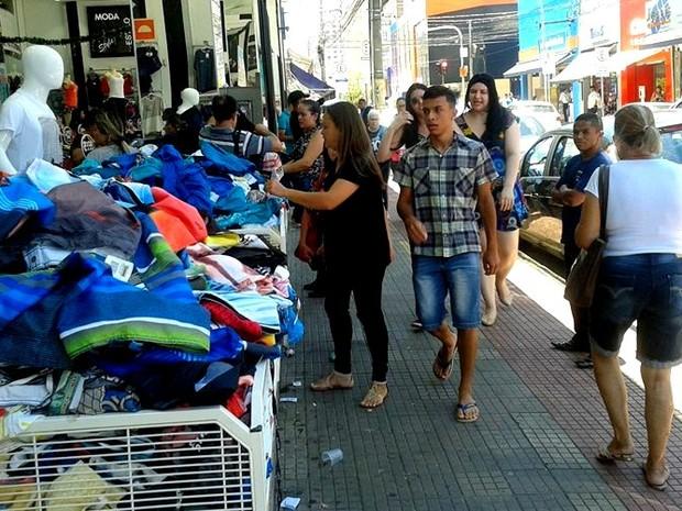 Comércio de Piracicaba funciona em horário especial a partir desta segunda (5) (Foto: Rafael Bitencourt/Arquivo pessoal)