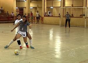 assermurb x atlético futsal feminino acre (Foto: Reprodução/Rede Amazônica Acre)