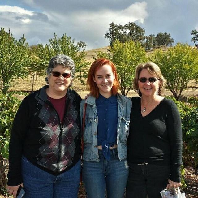 Debbie Malone, Jena Malone e Donna Mason (Foto: Instagram)