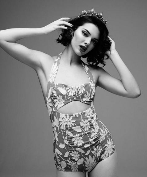 Kendall Jenner encarna Marilyn Monroe em by Rankin (Foto: Reprodução/Instagram)