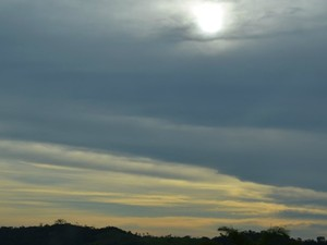 Tempo começa encoberto nesta semana, em RO (Foto: Jonatas Boni/G1)