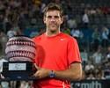Del Potro supera Bernard Tomic e conquista título do ATP de Sidney