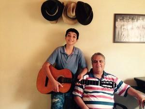 Wagner Barreto The Voice Kids (Foto: Arquivo pessoal)