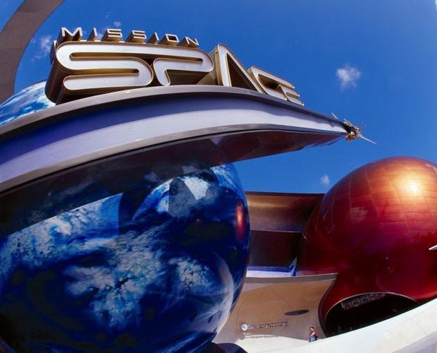 Sinta-se um astronauta no simulador Mission: SPACE  (Foto: Divulgação/Walt Disney World)