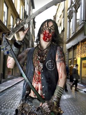 Lídero do grupo sueco de black metal Watain (Foto: Divulgação)