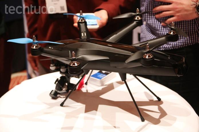 Hexo+ é um drone que usa GPS para seguir seu dono (Foto: Fabrício Vitorino/TechTudo)