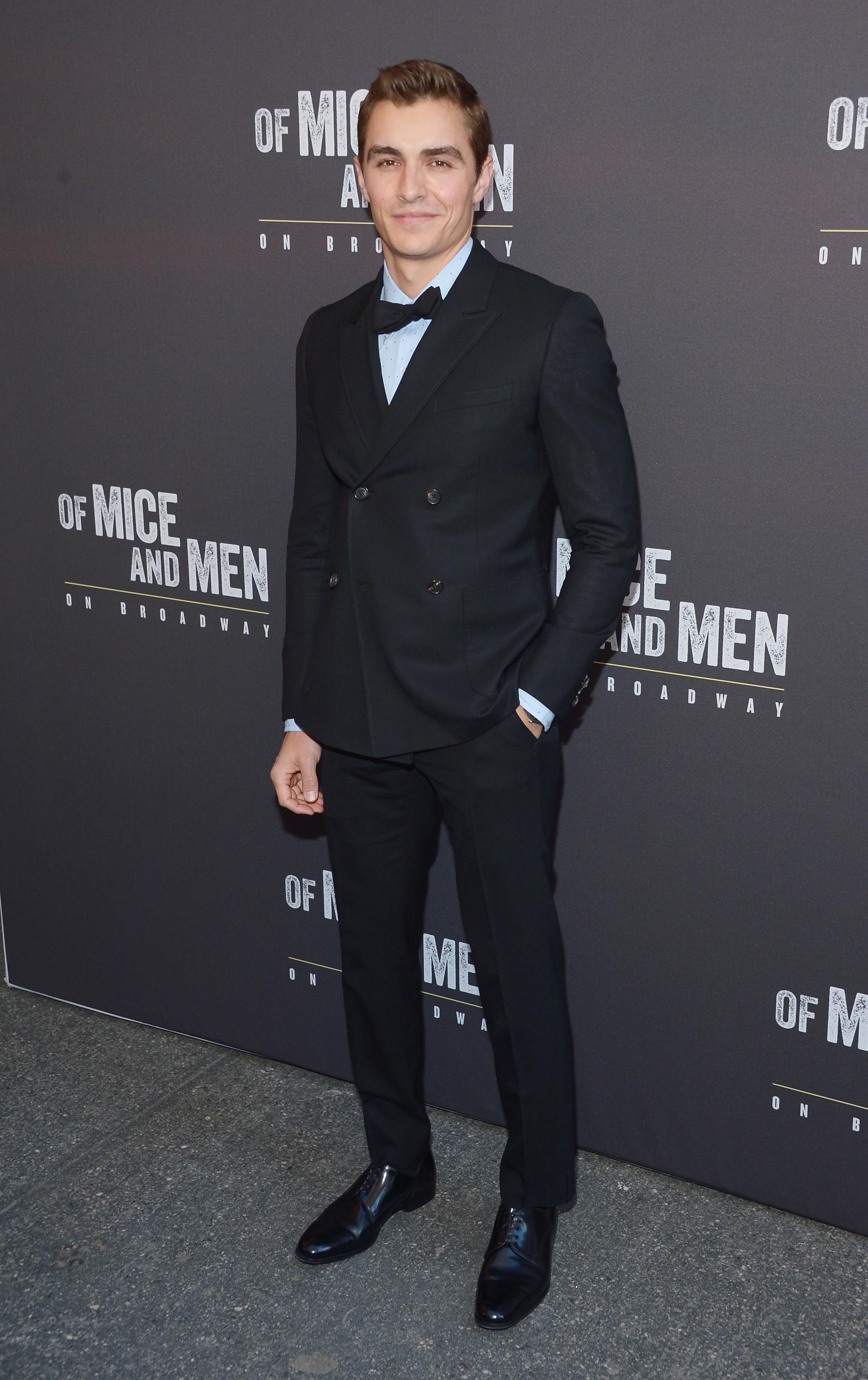 O ator de 'Vizinhos' (2014) e 'Truque de Mestre' (2013) está quase no mesmo patamar que o irmão James Franco, só que com alguns centímetros a menos. (Foto: Getty Images)