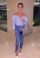 Giovanna Antonelli posa com look estiloso
