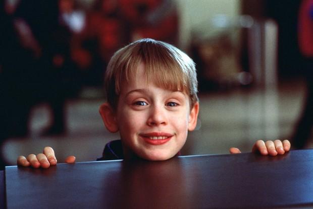 Macaulay Culkin em Esqueceram de Mim (Foto: reprodução)