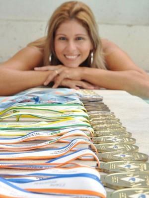Adriana Azevedo, nadadora paralímpica (Foto: Divulgação)