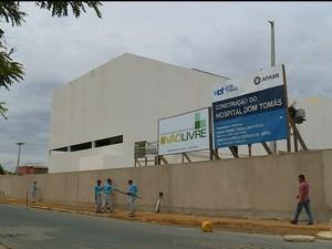 Hospital Dom Tomás  (Foto: Reprodução/ TV Grande Rio)