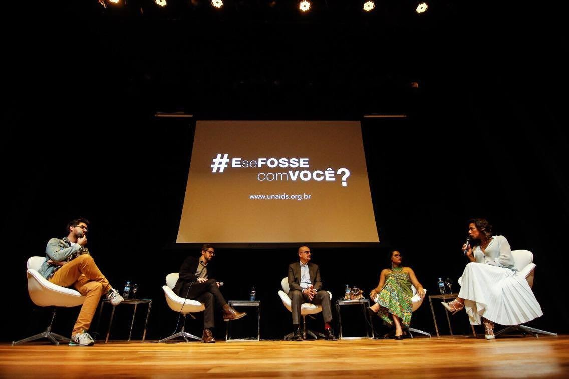 (Foto: Flow Cinema/UNAIDS Brasil)