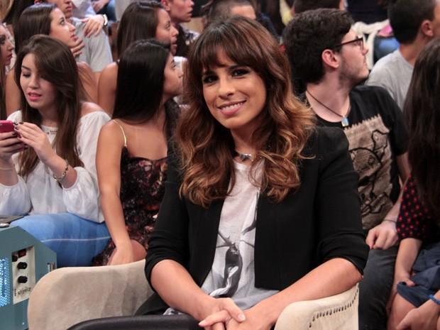 Maria Ribeiro revela que está apaixonada pela Paolla Oliveira (Foto: Marcos Mazini/Gshow)