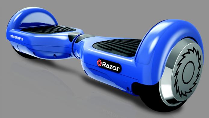 Hoverboards também são chamados de scooters elétrico (Foto: Divulgação/Razor)