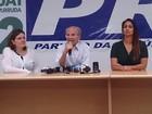 Frejat cumprimenta governador eleito (Mateus Rodrigues/G1)