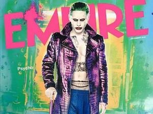 Capa da revista 'Empire' mostra Jared Leto como Coringa (Foto: Divulgação/Empire)