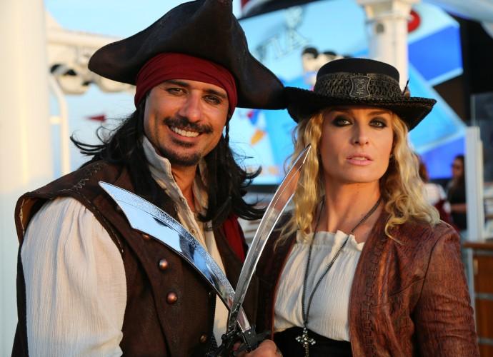 Marcos Pasquim e Angélica para a nova temporada do Estrelas (Foto: Thiago Fontolan/Gshow)