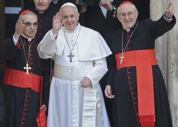 Novo Papa foi escolhido na quarta-feira (13) (Foto: Alessandro Bianchi / Reuters)