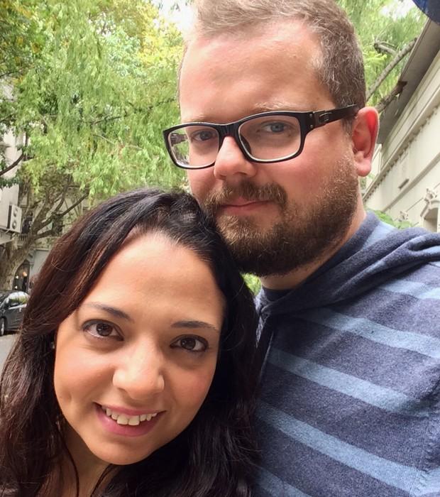 Renata Agostine e Thiago Guariglia, do Muy! (Foto: Divulgação)