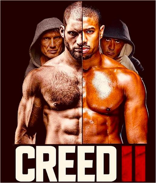 O pôster feito por um fã para Creed 2 e compartilhado por Sylvester Stallone (Foto: Instagram)