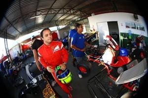 Felipe Massa no 'Desafio das Estrelas' (Foto: Divulgação/ Beto Carrero)