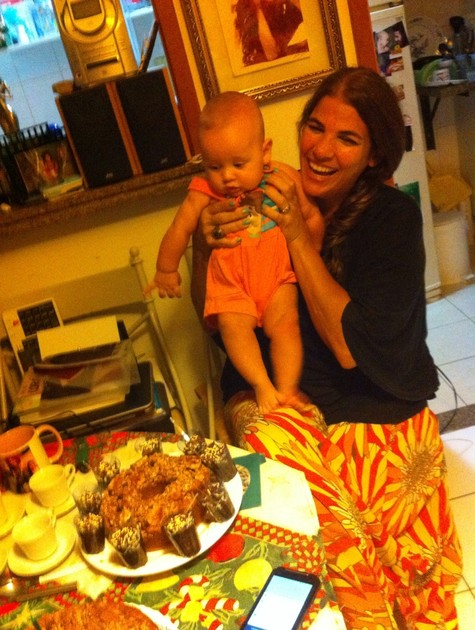 Luciana com o filho, Lucca (Foto: Arquivo pessoal)