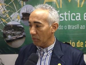 José Reinaldo Picanço, secretário de indústria, comércio e mineração do Amapá (Foto: John Pacheco/G1)