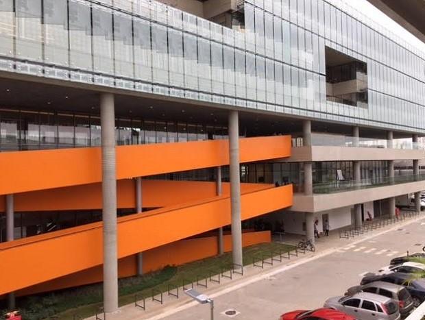 Novo prédio da Natura (Foto: Daniela Frabasile/Época Negócios)