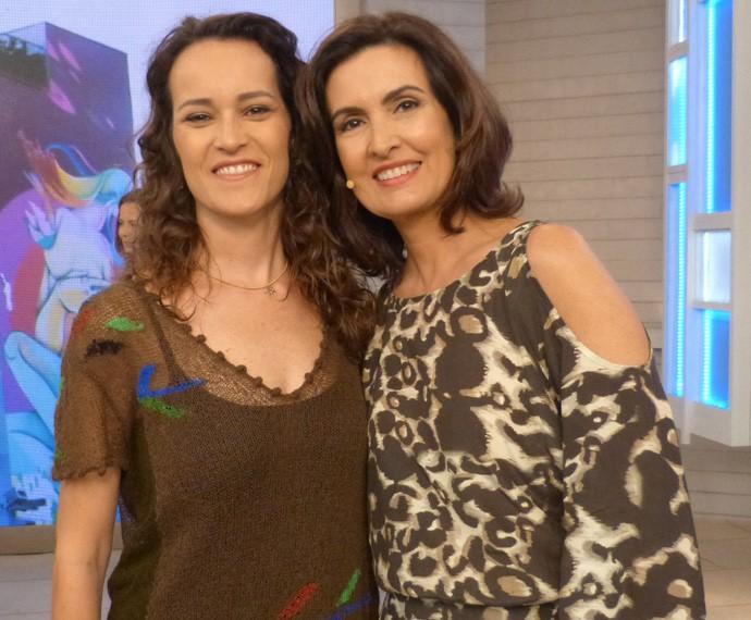 Rita Ericson e Fátima (Foto: Viviane Figueiredo Neto/ Gshow)