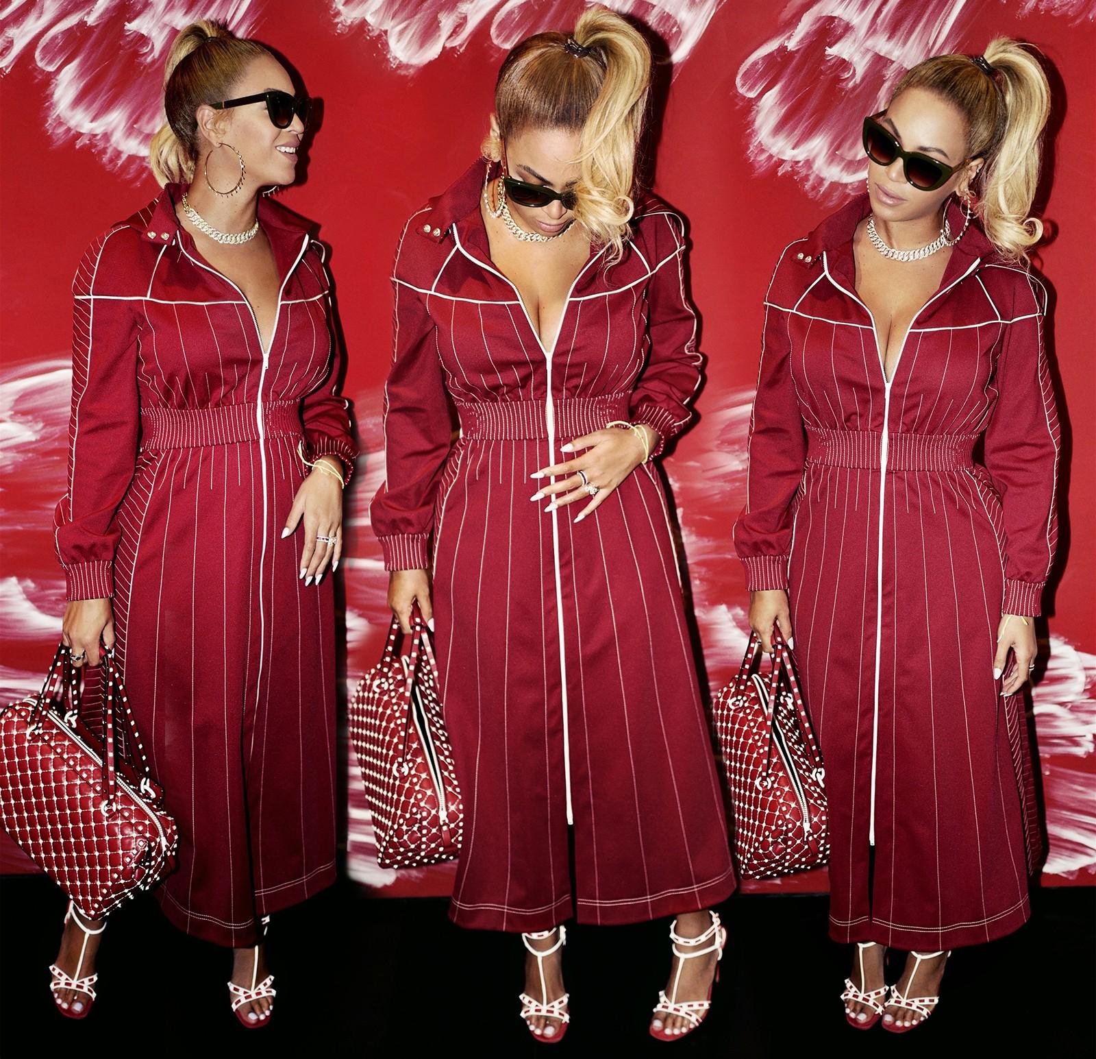 Look usado por Beyonce (Foto: Reprodução/Beyonce.com)