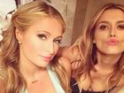 Paris Hilton faz selfie mostrando 'comissão de frente'