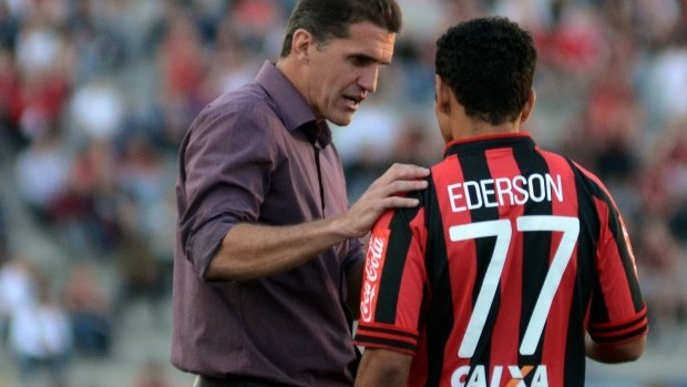 Vagner Mancini técnico do Atlético-PR (Foto: Divulgação/Site oficial do Atlético-PR)