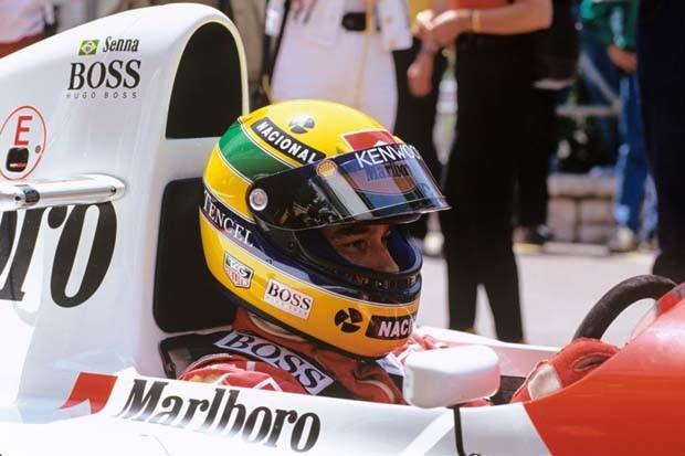 Ayrton Senna em Mônaco (Foto: Norio Koike)