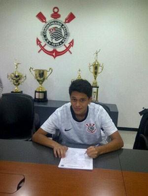 Gabriel Almeida sub-17 Corinthians (Foto: Reprodução)