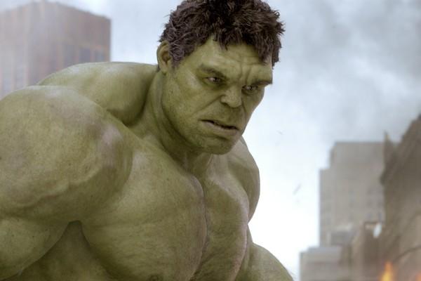 Mark Ruffalo como Hulk em Os Vingadores (2012) (Foto: Divulgação)