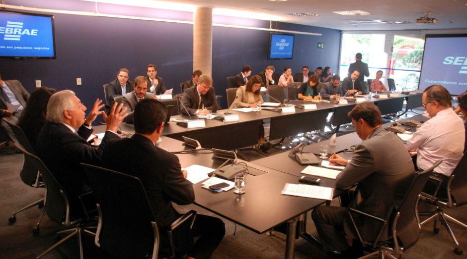 Grupo de trabalho que irá formular a proposta esteve reunido no Sebrae, em Brasília, no dia 3 de agosto (Foto: ASN/Luis Fortes)