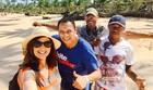 Kíria Meurer visita Bahia no  'Tô de Folga' (Rede Globo/Reprodução)
