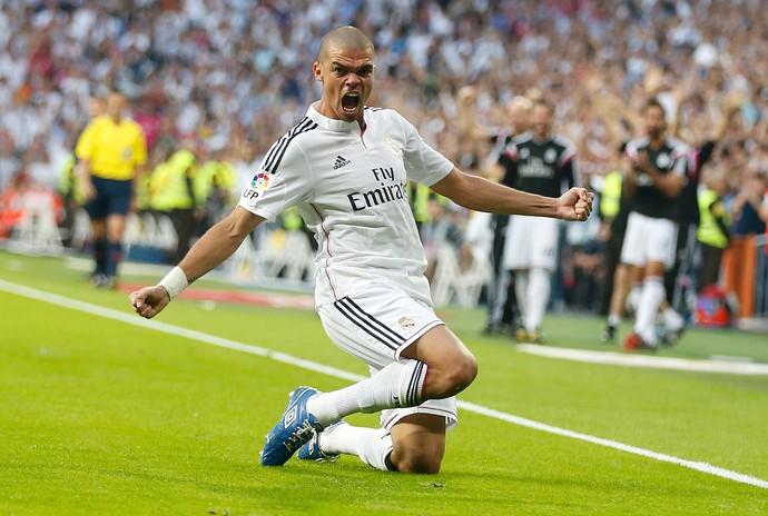 Pepe Gol, Real Madrid x Barcelona (Foto: Reuters)