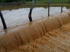 Município registra 123 milímetros de chuva no Piauí e açudes transbordam