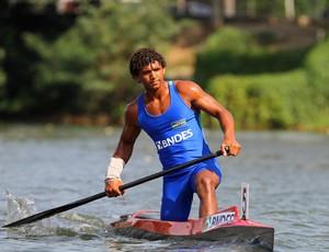 Isaquias Queiroz, Sul-Americano canoagem de velocidade (Foto: Ricardo Ramos/CBCa)