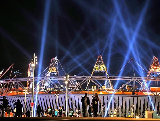 ensaio da abertura das olimpíadas de Londres (Foto: Getty Images)