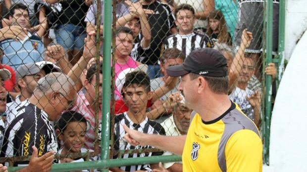 Leandro Campos, técnico do Ceará (Foto: Divulgação/Cearasc.com)