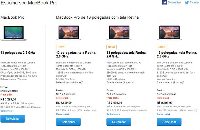 4e3ee0777b3 MacBook Pro ganhou atualizações (Foto  Reprodução Apple) (Foto  MacBook Pro