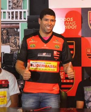 Jadson Flamengo-PI (Foto: Emanuele Madeira)