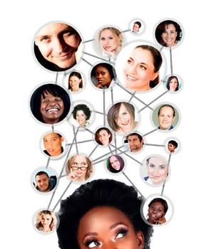 Tantas conexões...  e nenhuma me ajuda  a avançar na carreira (Foto: Shutterstock)