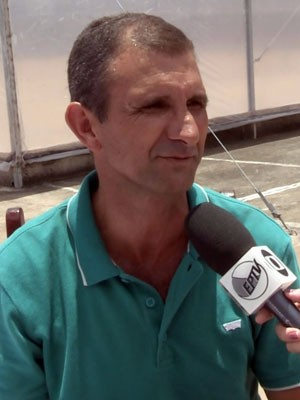 """""""Foi a natureza que colocou esse sabor lá"""", diz Sebastião da Silva sobre o café que é o atual campeão (Foto: Reprodução EPTV)"""