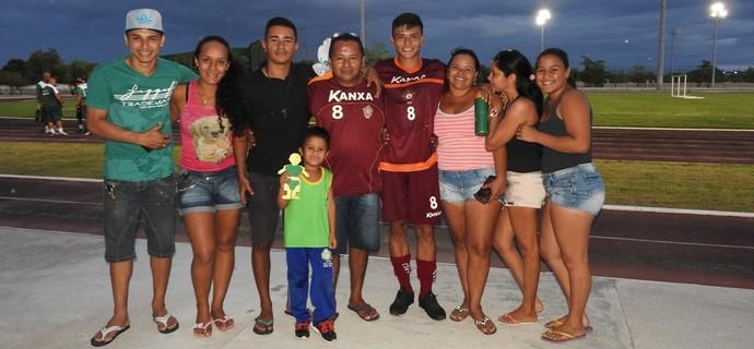 Kaio Cristian, lateral-esquerdo do Boa Esporte (Foto: Nailson Wapichana)