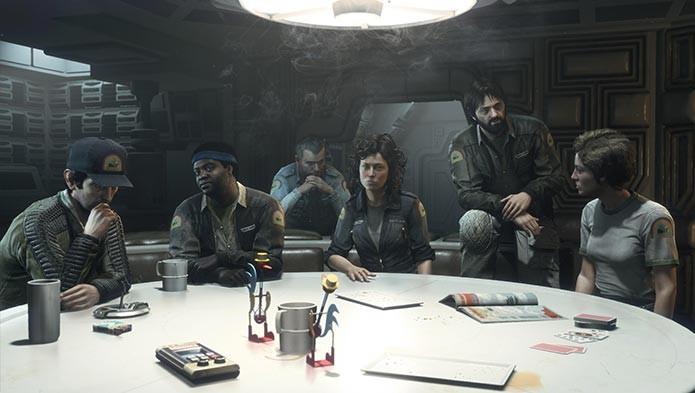 Alien Isolation tem DLC com os tripulantes da Nostromos (Foto: Divulgação)